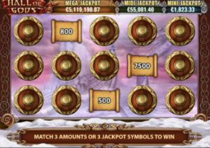 Jackpot spill Hall of gods