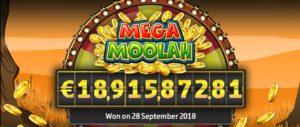 Jackpot rekord Mega Moolah
